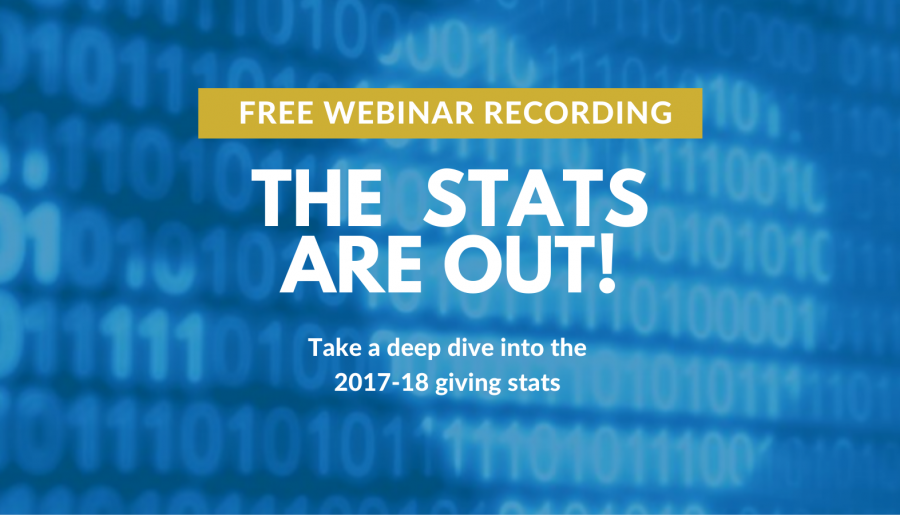 WEBINAR RECORDINGS | The stats are out – How 'giving' are we, Australia?