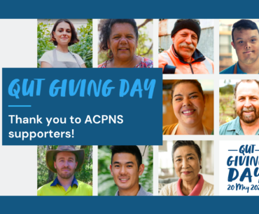 QUT Giving Day ACPNS