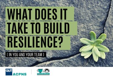What does it take to be resiliant