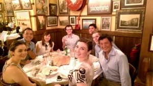 Dinner with the QUT Alumni - Hong Kong Chapter