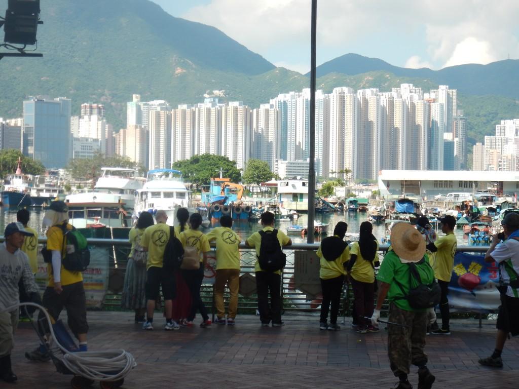 Lei Yu Mun coastline
