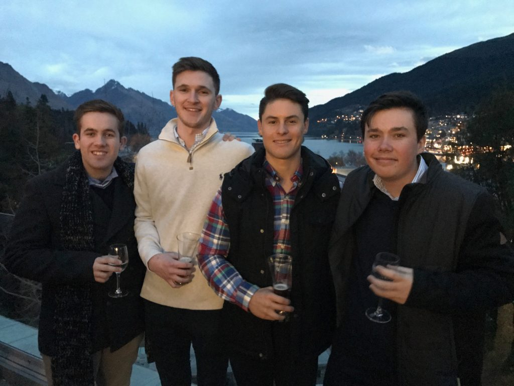 Case Competition team in New Zealand