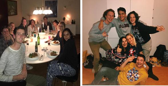 Family dinners in Copenhagen