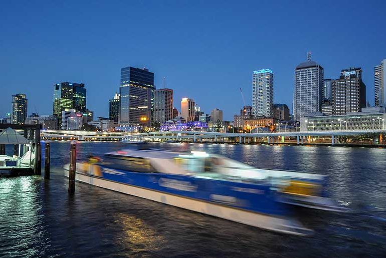 CityCat in Brisbane
