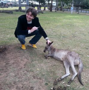 David and wallaby (2)