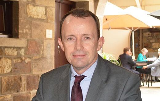 Photograph of Ben Mathews