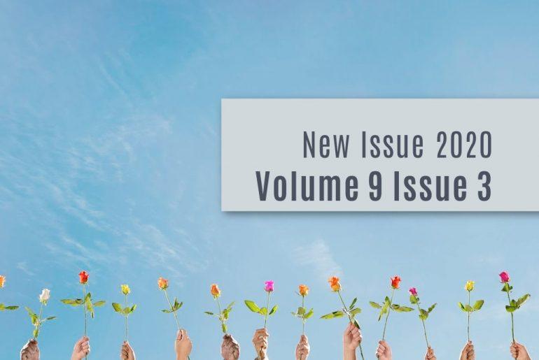 Artwork for Volume 9 Issue 3