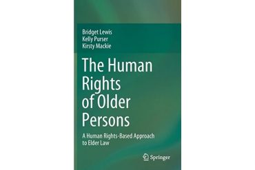 Book cover for The Human Rights of Older Persons