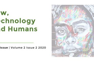 Artwork for Law, Technology and Humans Volume 2 Issue 2 2020