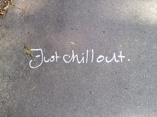 Just chill out by sleepymf CC BY-NC-ND 2.0