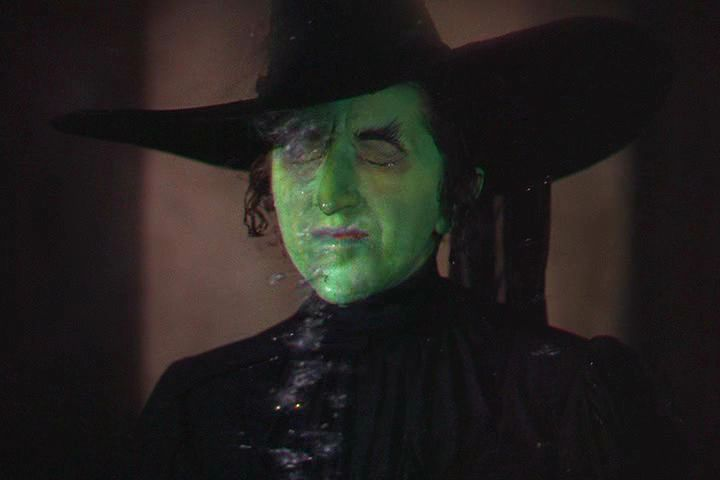 'The Wizard of Oz (1939) The Wicked Witch is hit by water and starts to melt' by  Insomnia Cured Here  (CC BY-SA 2.0)