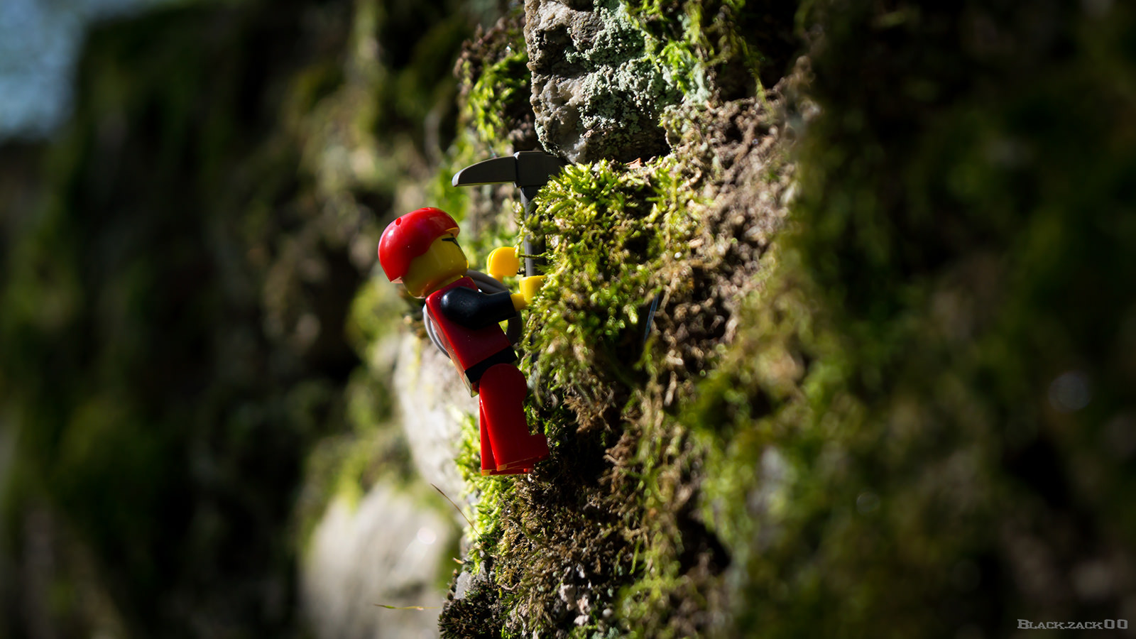 You're nearly there minifig! 'Small Climb' by  Black Zack (CC BY-NC-SA 2.0)