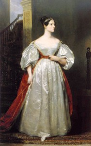 Ada Lovelace, 1836 by Margaret Sarah Carpenter (Public domain via Wikimedia Commons)