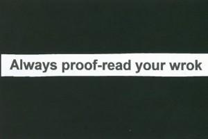 Proofreadyourwrok