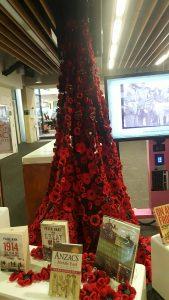 1000 Poppies, Kelvin Grove Library.