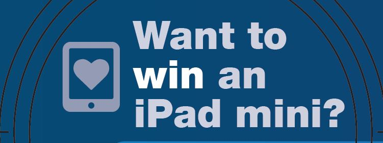 Want to win an iPad mini?