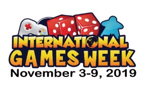 International Games Week 2019 - November 3-9