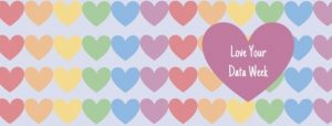 Lover you data week and rainbow love hearts