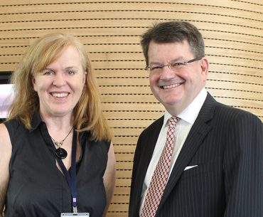 Kate Joyner and David Williams