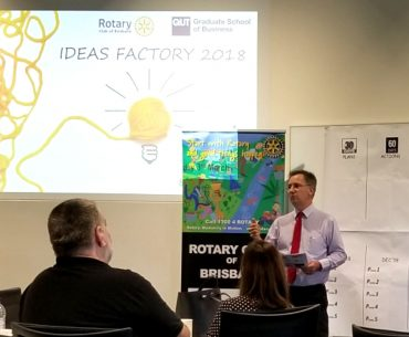 Ideas Factory 2018 - Rotary