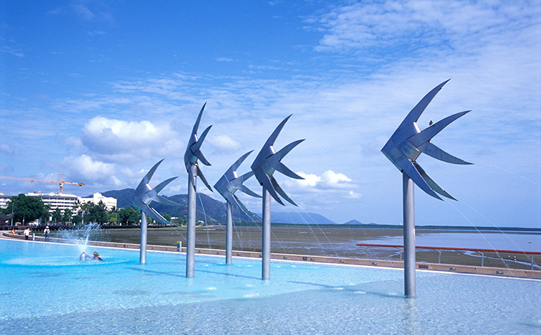 Cairns waterfront image