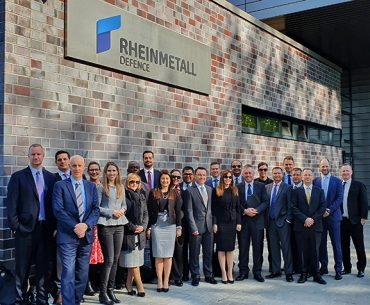 Executive MBA Students at Rheinmetall