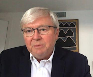 The Hon Kevin Rudd, Former Prime Minister of Australia
