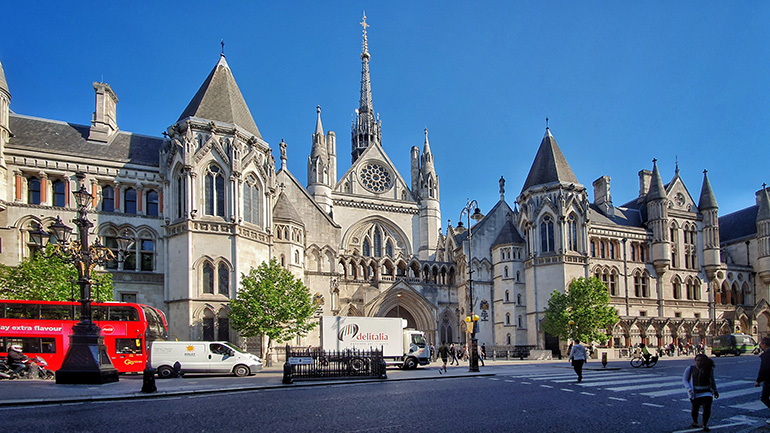 The Royal Courts of Justice (London)