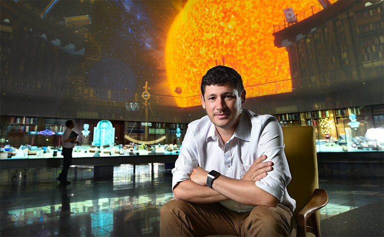 David Flannery QUT Search for life on Mars