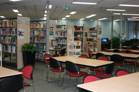 Interior of QUT Library Caboolture