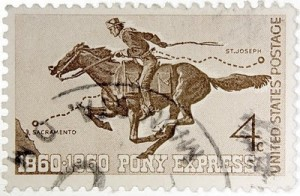 Pony Express Stamp