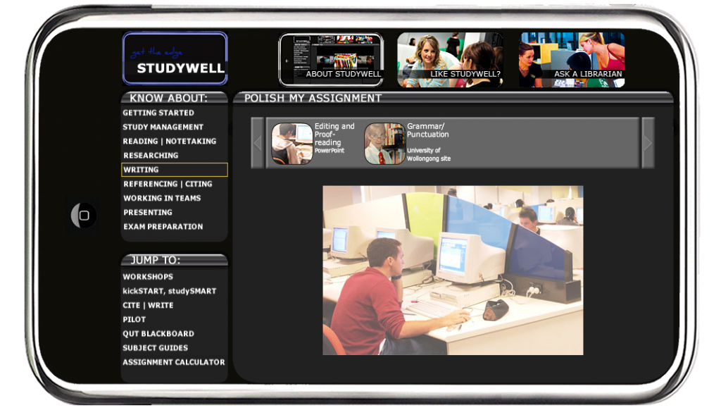 Screenshot of Studywell