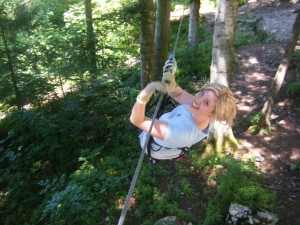 Ropes Course by Ellie Bakker