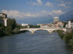 Bridge, Grenoble by Ellie Bakker