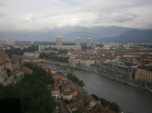 View from La Bastille by Ellie Bakker