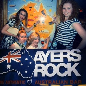 Aussie shot at Ayers Rock, France